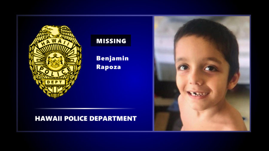 Search Continues For Missing 6 Year Old Benjamin Rapoza