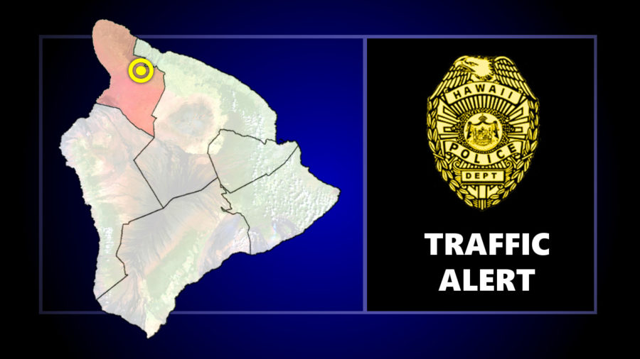 Vehicle Collision Closes Kawaihae Road In Waimea