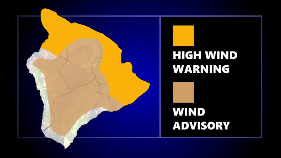 High Wind Warning Closes Two Kohala Coast Beaches