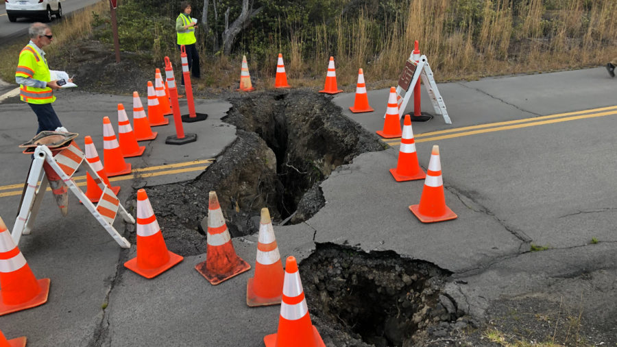 Eruption-Damaged Road Repairs In HVNP Set To Begin