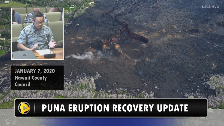 VIDEO: Puna Eruption Buyouts Discussed At Council