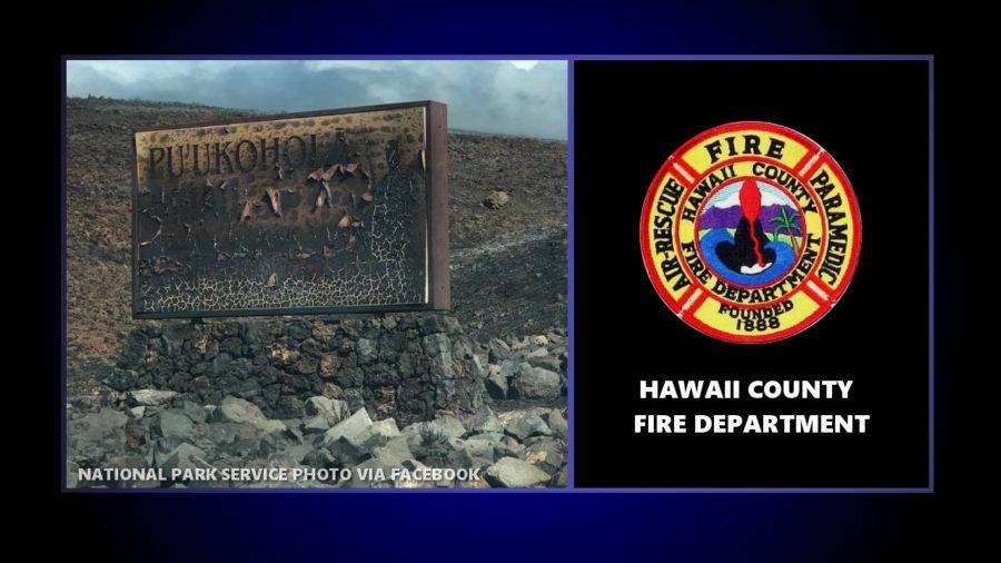 Brush Fire Closes Puʻukohola Heiau National Historic Site