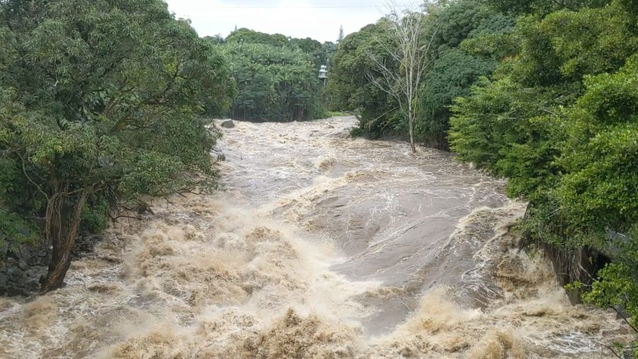 VIDEO: Wailuku River Swells, Residents On Alert