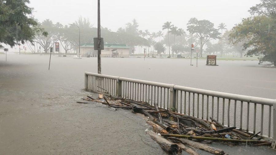 VIDEO: Hilo Roads Underwater, Flash Flood Warning Extended
