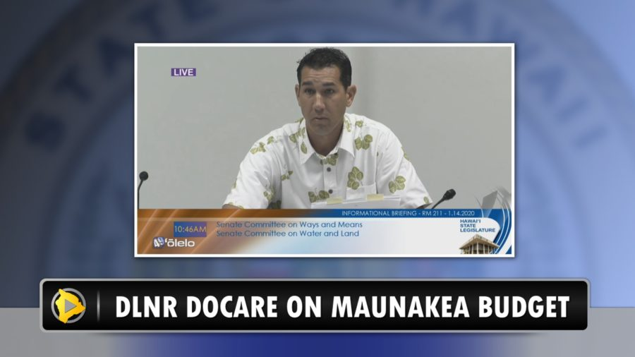 VIDEO: Millions Requested For Future Maunakea Enforcement Operations