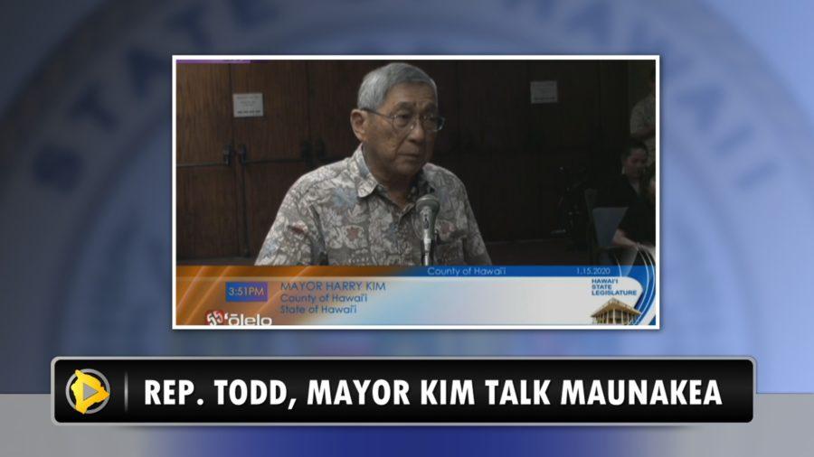 VIDEO: Maunakea Unrest Discussed At Legislature Opening Day