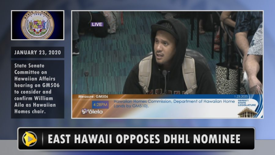 VIDEO: East Hawaiʻi Speaks Out On DHHL Chair Nomination