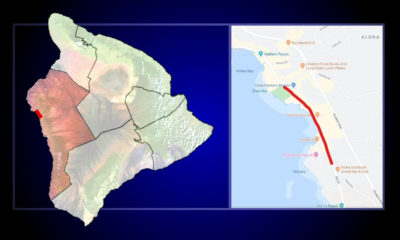 Aliʻi Drive Sinkhole Repair Project Begins