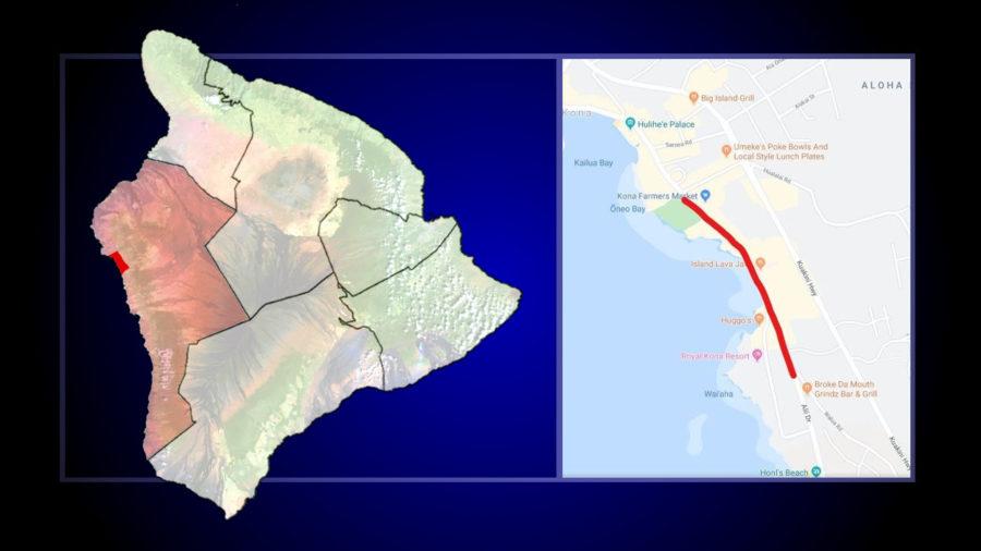 Aliʻi Drive Sinkhole Repair Project Begins