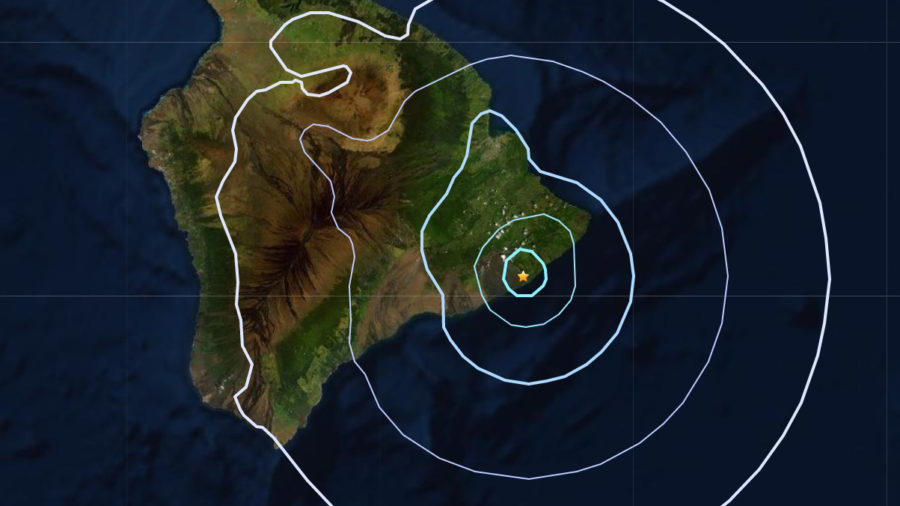 Magnitude 3.8 Earthquake Shakes Kalapana