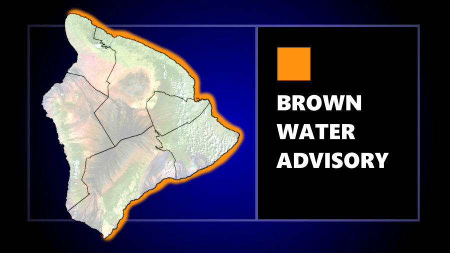 Brown Water Advisory In Effect For All East Hawaiʻi Shores