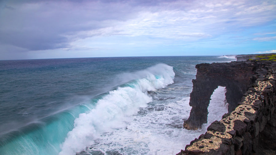 Holei Sea Arch Closed After Cracks Observed