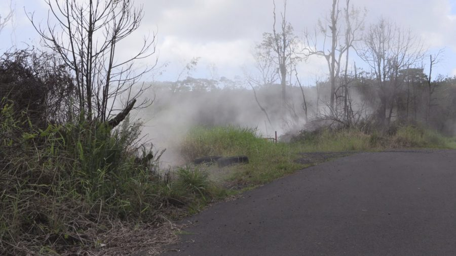 VIDEO: Kilauea's Lower East Rift Zone Heating Up In Areas