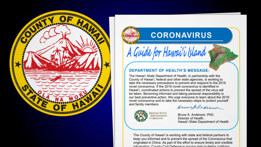 Hawaii County, State Produce Coronavirus Brochure