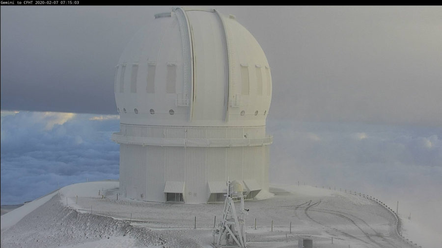 136 mph Winds Measured At Mauna Kea Summit