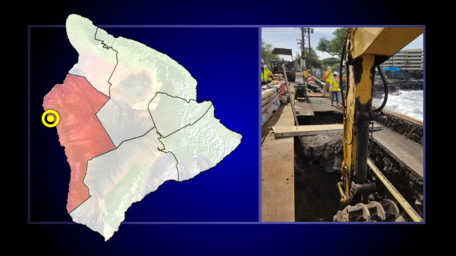 Alii Drive Goes To One Lane Next Week For Pothole Repair