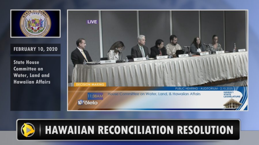 VIDEO: Mauna Kea Spurs Hawaiian Reconciliation Commission Proposal