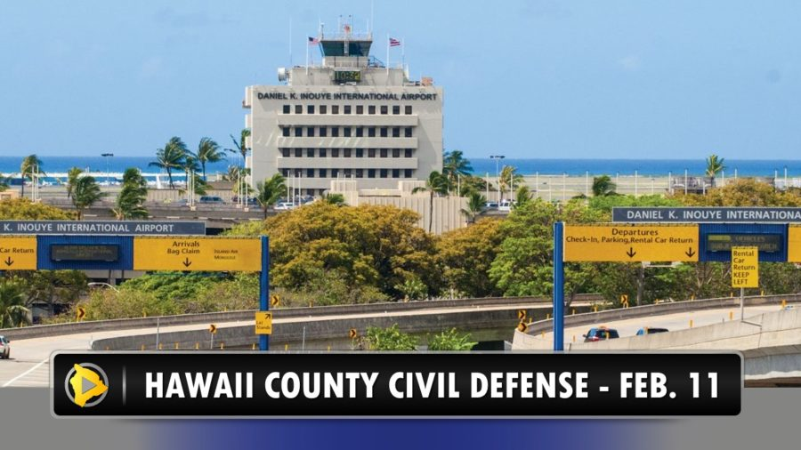 New Coronavirus Message From Hawaii County Civil Defense