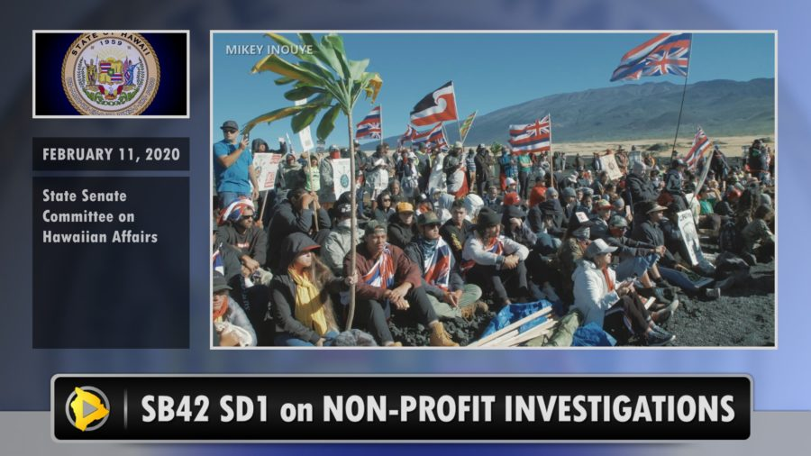 VIDEO: Bill Will Prohibit Investigation Of Non Profits Linked To Civil Disobedience