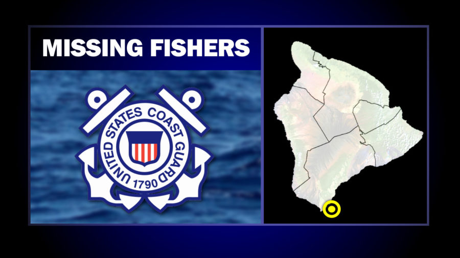 Missing Fishers Presumed Swept Off Shore In Kaʻū