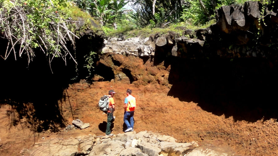 VOLCANO WATCH: Analyzed Island Ash Deposits Shed Light On Possible Origins