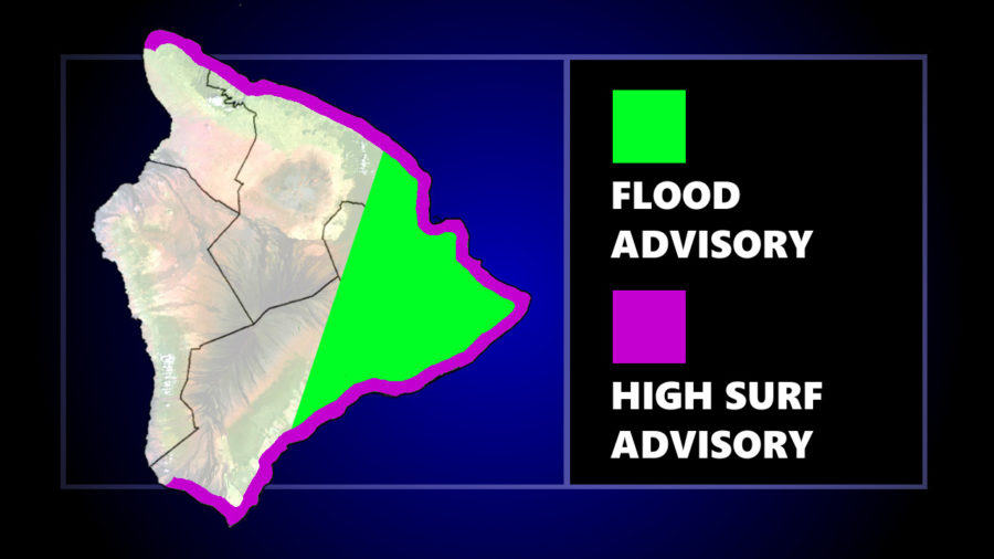 Hawaiʻi Flood Advisory Extends Into Tuesday Afternoon