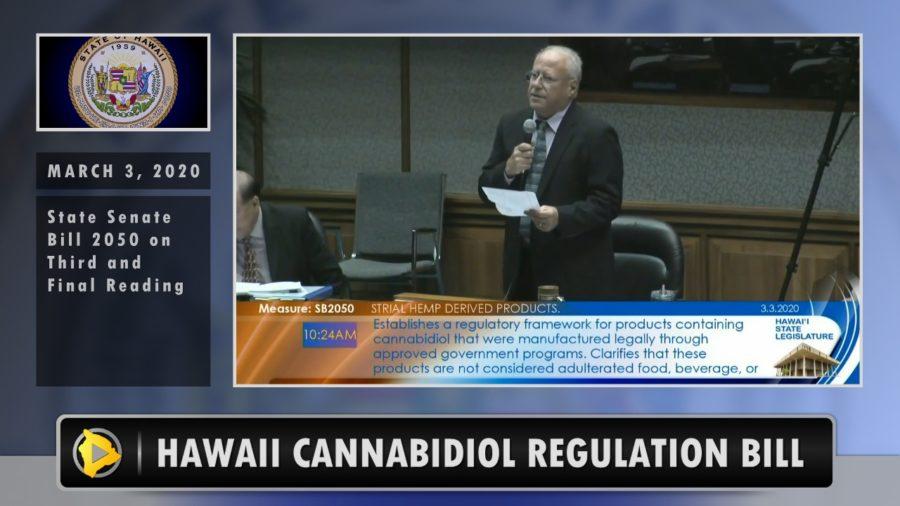 VIDEO: Hawaii Senate Passes Cannabidiol Regulation Bill