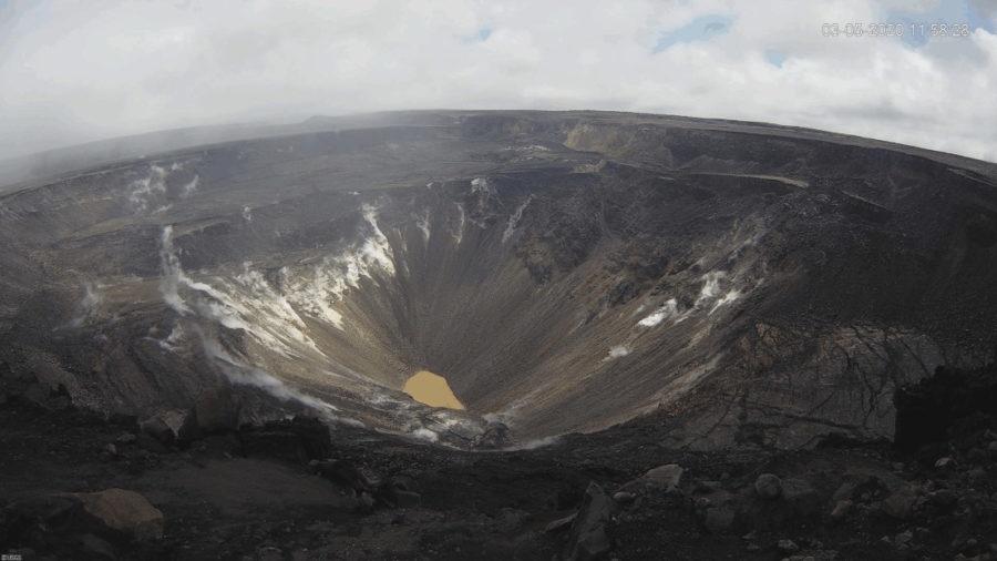 Kilauea Volcano Activity Update Posted By USGS