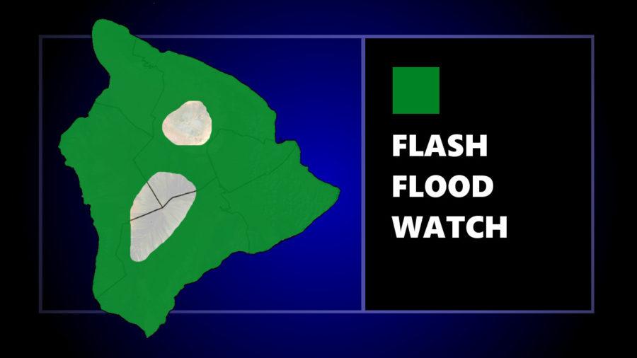 Flash Flood Watch Issued As Kona Low Nears Hawaii