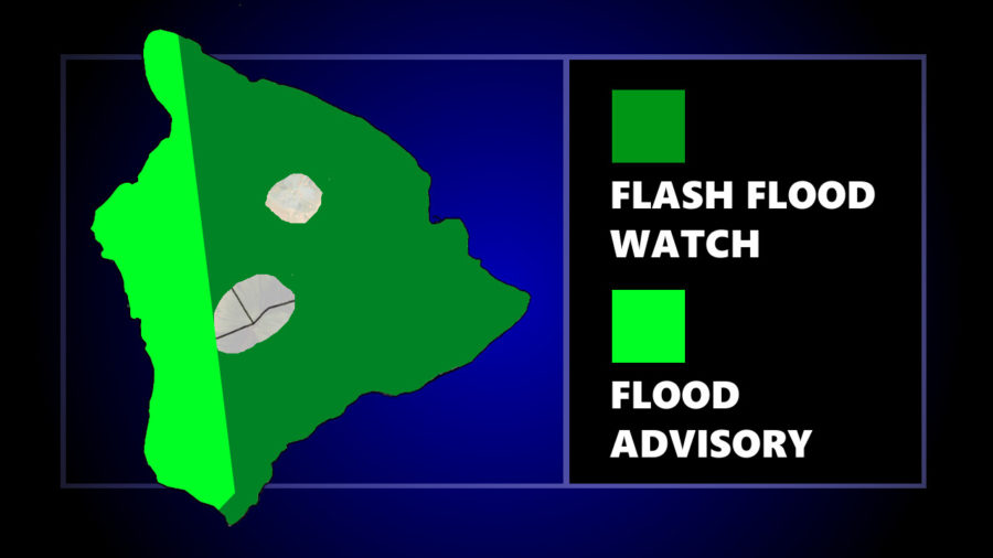 Flood Advisory Issued For West Hawaii, Thunderstorms Forecast