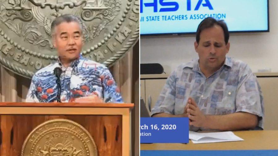 VIDEO: Hawaii State Teachers Association Files Complaint