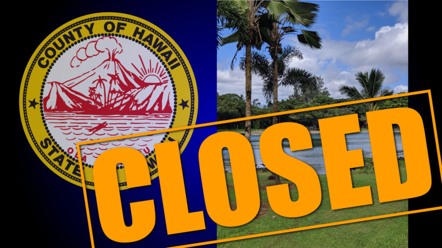 All Hawaii County Beach Parks Closed As Of Saturday, March 21