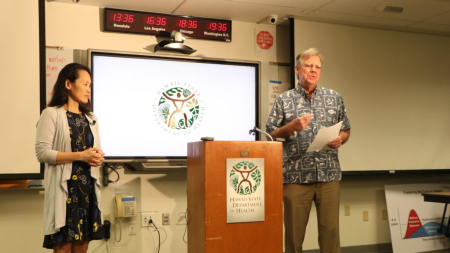 VIDEO: Hawaii Health Department Gives COVID-19 Update