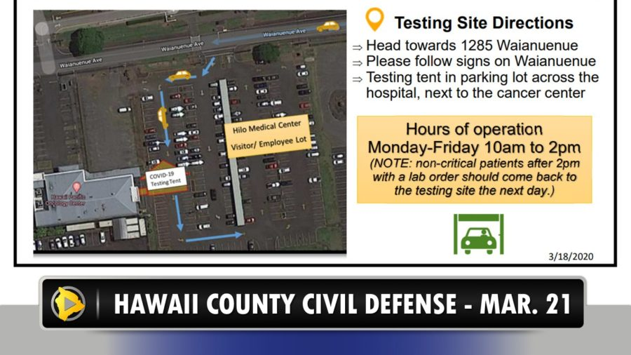VIDEO: COVID-19 Update – 2 New Cases On Hawaii Island