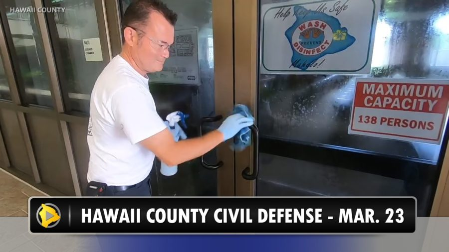 VIDEO: Hawaii Island COVID-19 Update, Message From Mayor Kim
