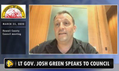 VIDEO: Lt. Gov. Josh Green Addresses Alleged COVID-19 Response Exclusion