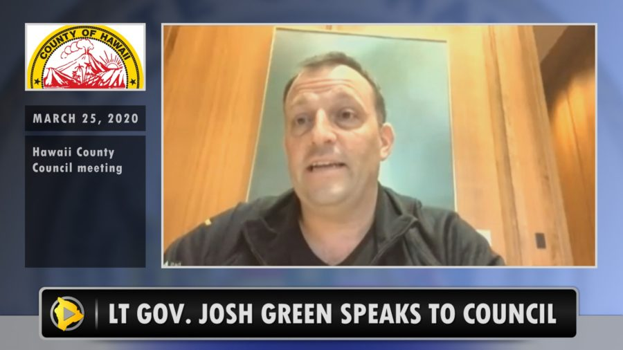VIDEO: Lt. Gov. Josh Green Addresses Alleged COVID-19 Response Exclusion
