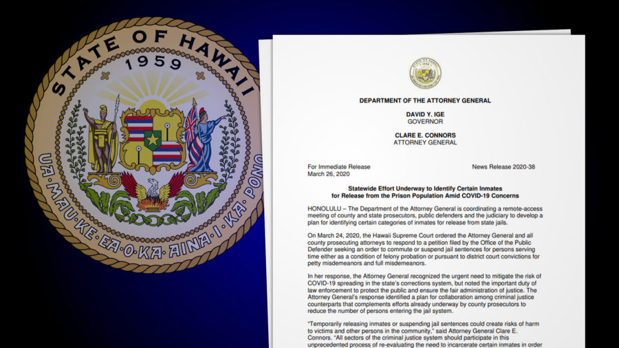 Hawaii Looks To Release Certain Inmates From Prison Amid COVID-19 Outbreak