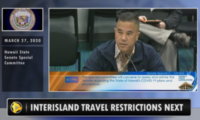 VIDEO: Hawaii Interisland Travel Restrictions Next
