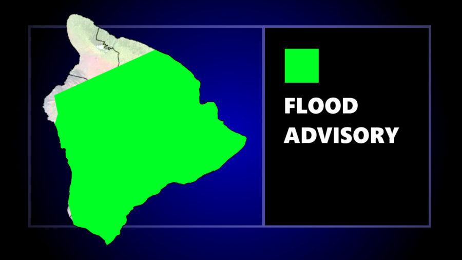 Flood Advisory Issued Sunday For Hawaii Island