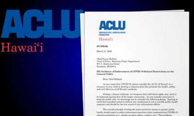 Balance COVID Restrictions With Freedoms, ACLU Tells Police