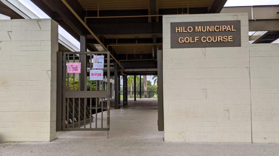 County Closes Hilo Muni Golf Course