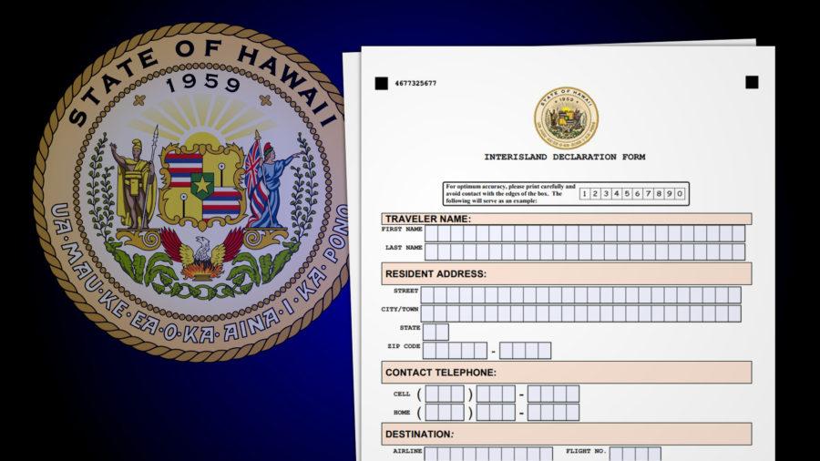 Hawaii Inter-Island Quarantine Order Signed, Detailed