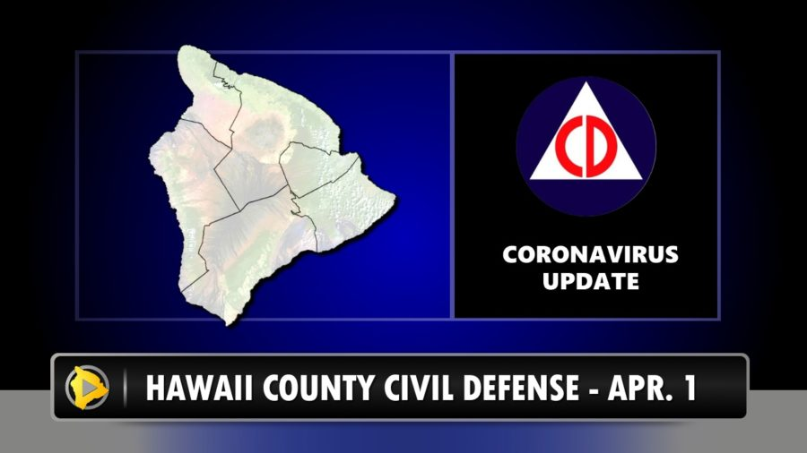 21 Cases Of COVID-19 On Big Island, Civil Defense Reports