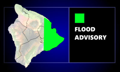 Flood Advisory Issued For Hilo, Puna