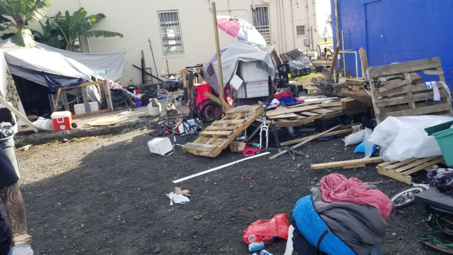 Hilo Encampment Cleared For Second Time