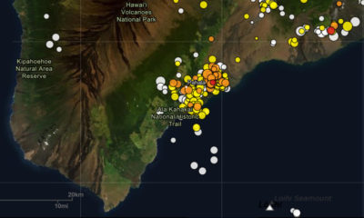 USGS Issues Kilauea Information Statement On Deep Pahala Earthquakes