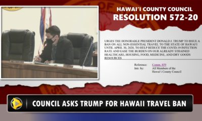 VIDEO: Council Asks Trump For Hawaii Travel Ban