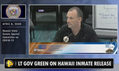 VIDEO: Lt. Gov. Green Shares Thoughts On Prison Inmate Releases