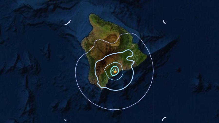Earthquake Shakes Hawaii On Easter Sunday